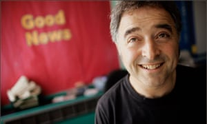 """Frank Cottrell Boyce: 'I like the unpredictable questions, such as """"How much do you weigh?""""'"""