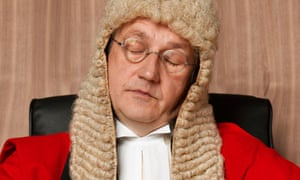 On one occasion, researchers reported that jurors commented on the judge's 'loud snoring'