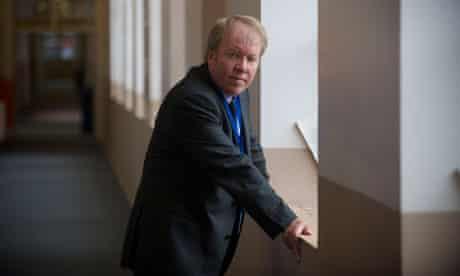 Jeremy Rowe, headteacher of Sir John Leman high school in Beccles, Suffolk