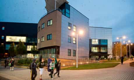 Swansea University campus, Wales UK