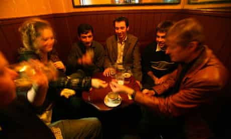 Researchers had to visit lots of 'beer parlours' to find out how much people drink