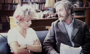 Still from the film Educating Rita (1983) starring Julie Walters and Michael Caine