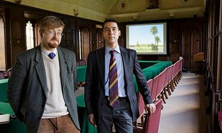 Alexander Morrison (left) and Berny Sèbe are worried about their own research