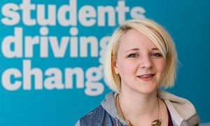 Toni Pearce, a further education college graduate, was elected president of the NUS