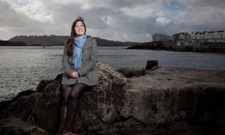 Sophie Cousens had to battle against her school to study marine biology at Plymouth University