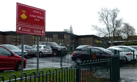Leyland Methodist school where the process of transferring to academy is a 'barrier to improvement'