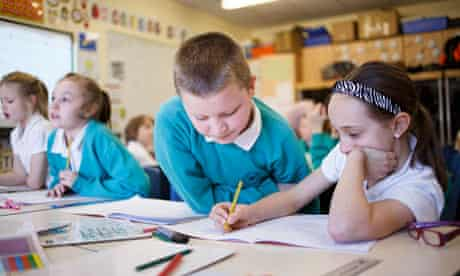 A maths class at Ravenswood primary school