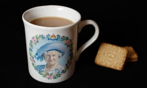 What could be more British than a cup of tea?