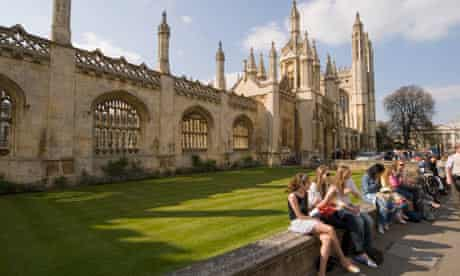 Students at King's College, Cambridge