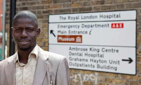 """Morro Tunkara, who works as a cleaner in a London hospital: """"Teaching is my passion.'"""