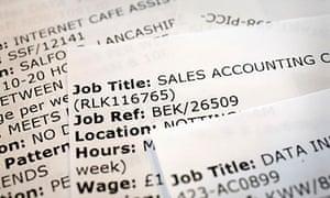 list of job vacancies