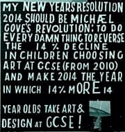 Bob and Roberta on reversing the decline in arts