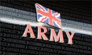 Army recruitment centre in Wakefield