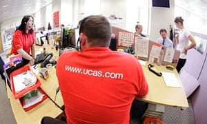 man with red ucas tshirt