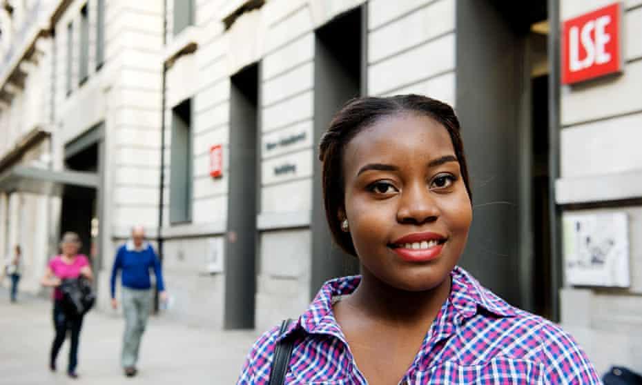 Chrisann Jarrett eventually got financial help for her LSE course from the university.