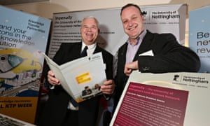 Two chaps at a KTP event