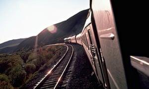 Trans-Siberian express train