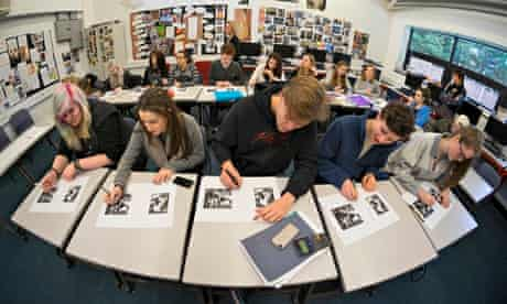 'It's like learning how to analyse your own culture': art history students at Godalming college