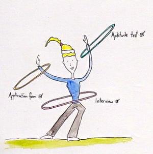 the hoop jumper, illustrated blog