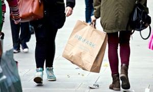 Primark shopping bags