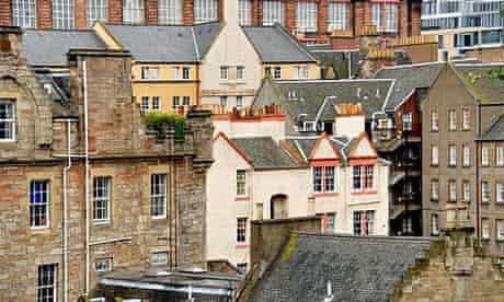 Old Edinburgh Scotland Great Britain. Image shot 2007. Exact date unknown.