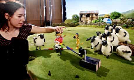 Shaun the sheep animation models
