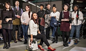 Apprentices at Fashion Enter