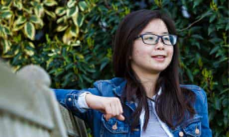 Yali Liu, who is studying business administration at the University of Bath
