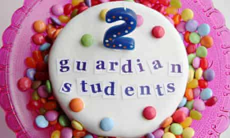 guardian students cake with smarties