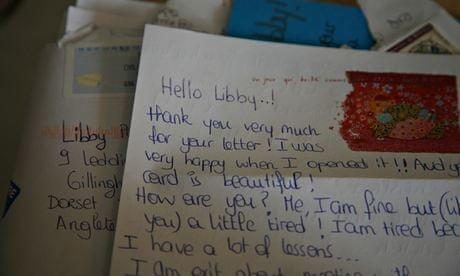 I learned a language the old-fashioned way – with a pen pal