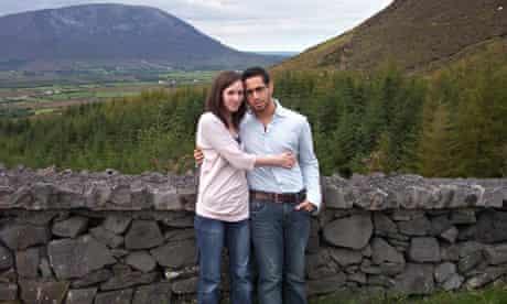 Nicola McCausland and husband
