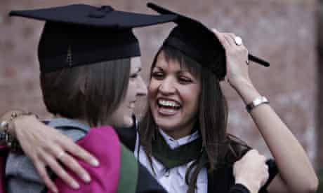 happy graduation day female students