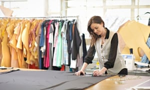 fashion intern cutting patterns studio