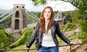 A-grade student Tamar Israel chose Bristol University because her economics course is in the top 10