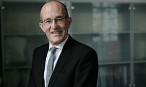City vice-chancellor Paul Curran