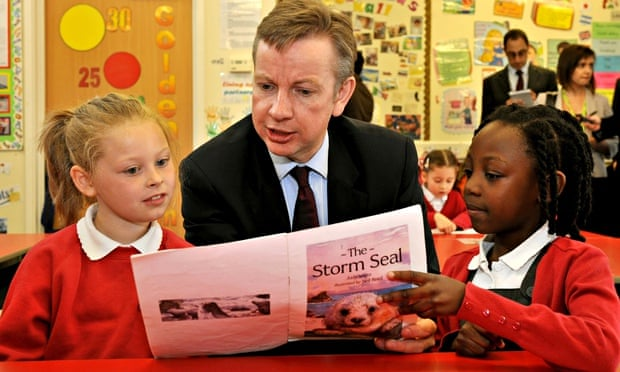 Michael Gove in his first month as education secretary in 2010.