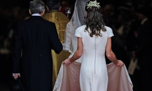 A Freudian view of the fetishisation of Pippa's rump relies on multiple perceptions