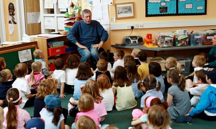 Poetry with Michael Rosen. Government guidance gives sample questions and 'correct' answers