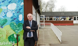 Eugene Symonds, head of West Kidlington primary, which cannot get funding to get rid of asbestos.