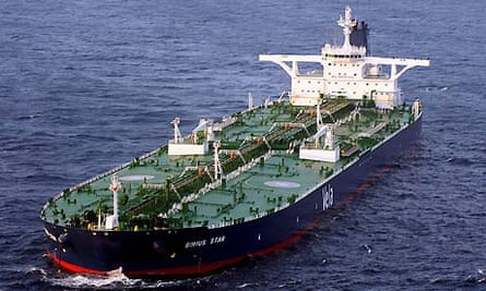 Hijacked oil tanker MV Sirius Star