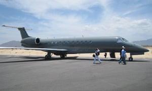 Bernie Madoff's private jet
