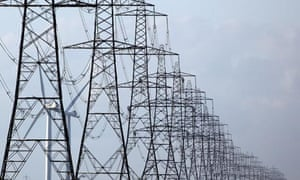 Climate Change And Global Pollution At Copenhagen: electric pylon, electricity, energy