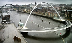 Green Newcastle : The Baltic Millennium Bridge