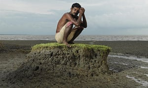 Climate change coference in Copenhagen COP15:  Sea Level Rise and People in Sundarbans