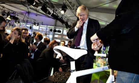 COP15 London Mayor Boris Johnson