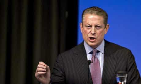 COP15 Al Gore delivers a speech