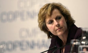 COP15 president Connie Hedegaard in Copenhagen