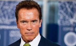 COP15 California Governor Arnold Schwarzenegger speaks at the Bella Center