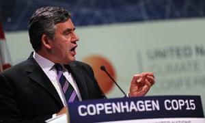 COP15 Britain's Prime Minister Gordon Brown