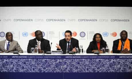 COP15 G77 Algeria's Kamel Djemouai
